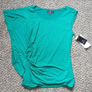 Ronni Nicole Green Sparkly Top Brand New